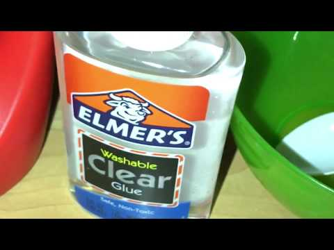 Tide and clear glue slime only 2 ingredients