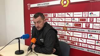 "Ligue 1 - Nîmes : ""Sortir la tête de l'eau"" (Arpinon)"