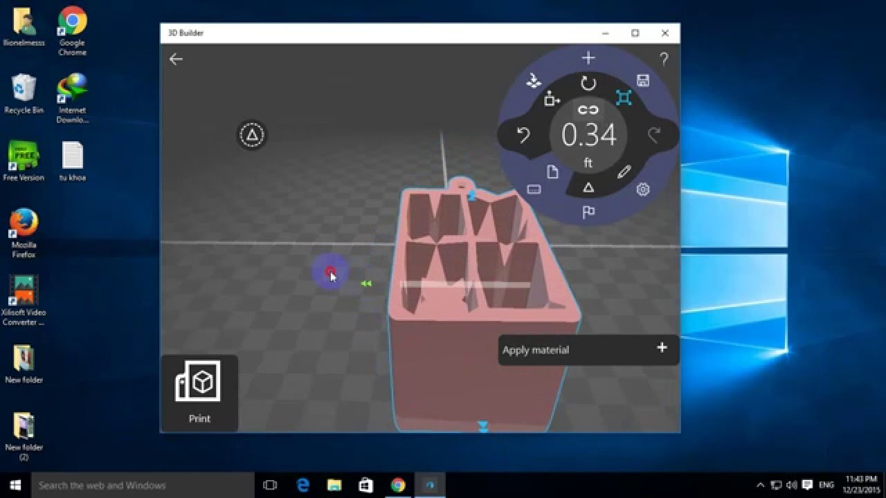3d Builder Windows 10 Youtube