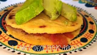 Deliciosas AREPAS COLOMBIANAS de la abuela