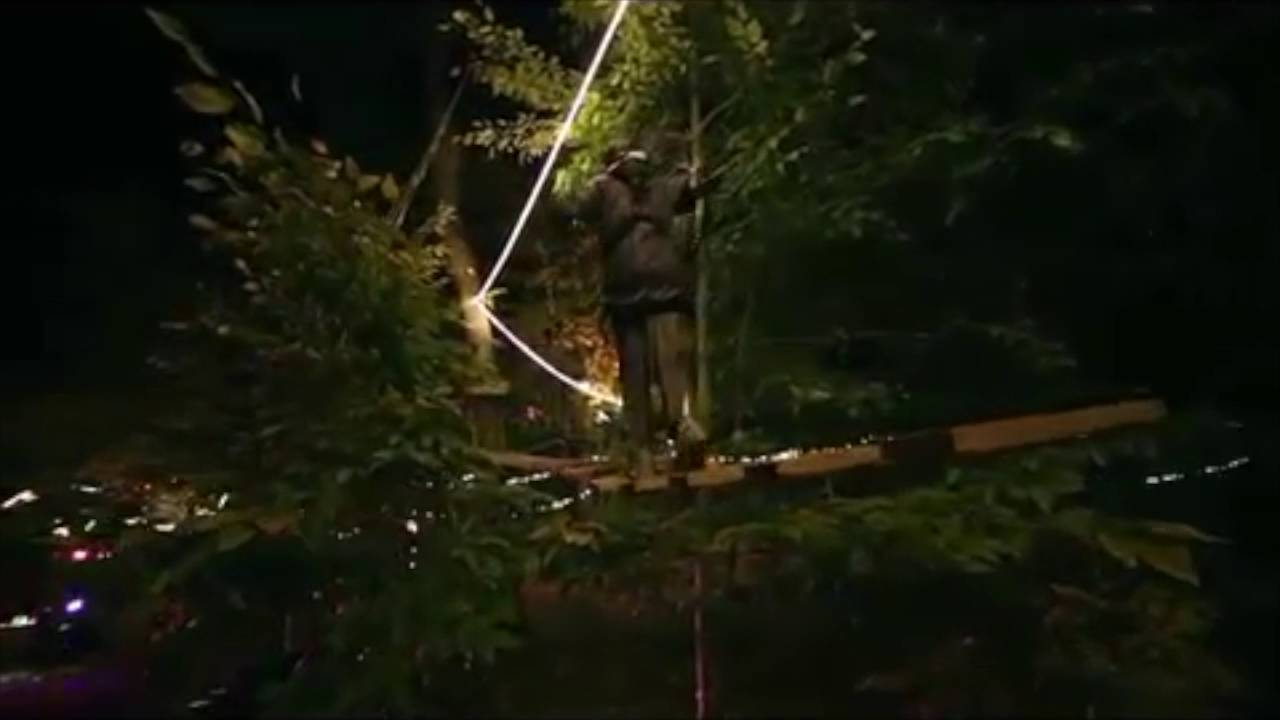 Glow In The Park With The Adventure Park At Long Island Youtube