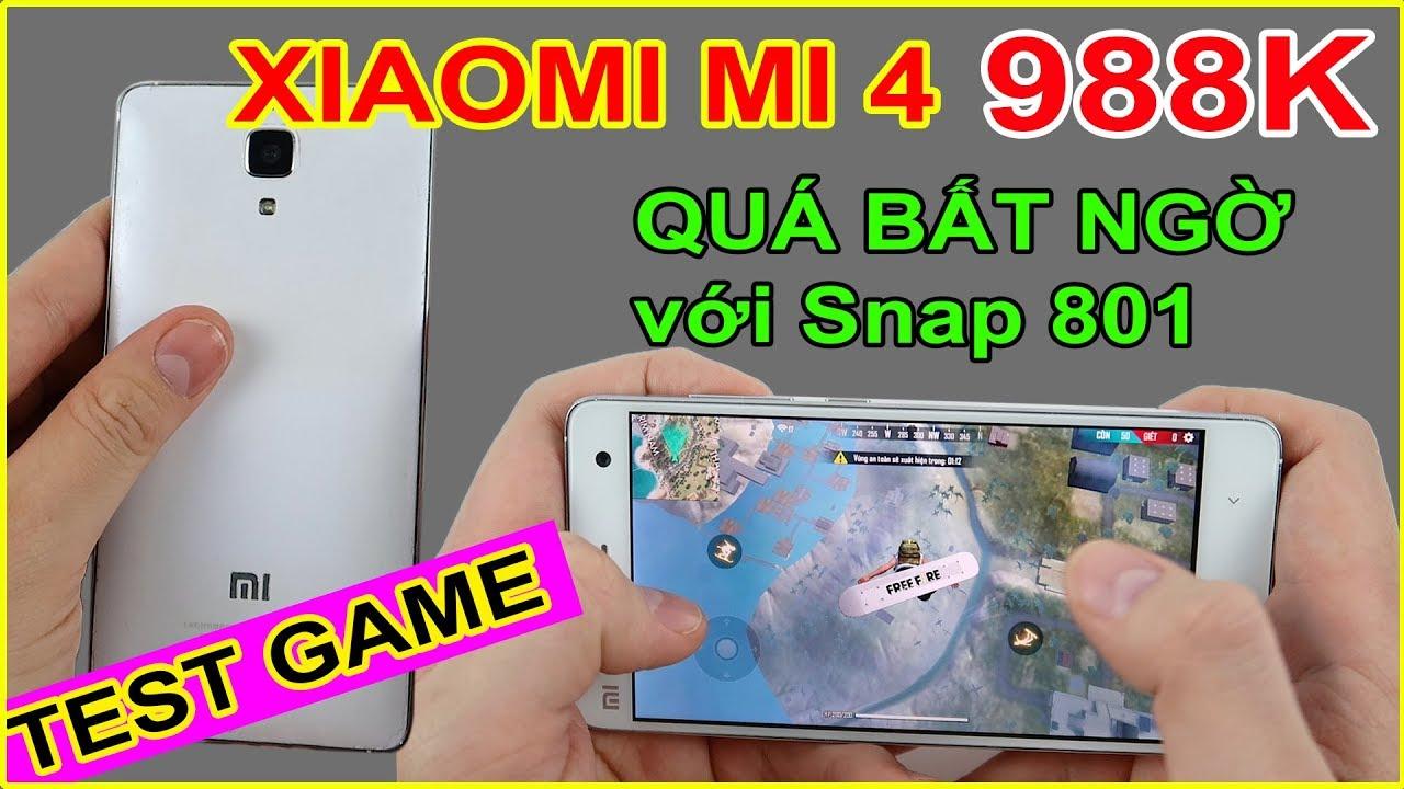 TEST GAME Xiaomi Mi 4 giá chỉ 988k trên LAZADA, SHOPEE. Dưới 1tr chơi game?? | MUA HÀNG ONLINE