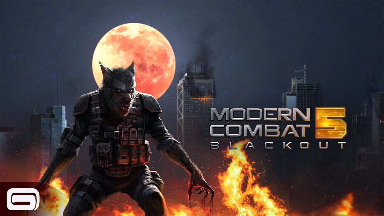 Modern Combat offline action game for iPad and iPhone