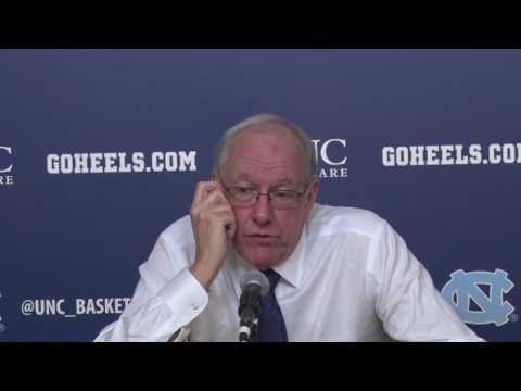 Jim Boeheim Press Conference | Syracuse vs. UNC