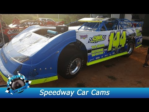 #144 Chicky Barton - Super Late Model - 9-3-17 Tazewell Speedway - In Car Camera
