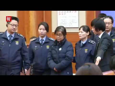 Woman at the heart of South Korea's political scandal jailed three years