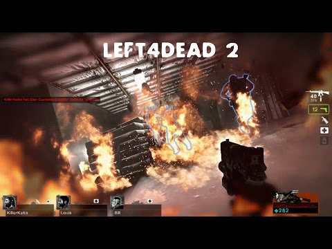 Lets Fail Left4Dead #03- Left4Fail/saferoom on fire |