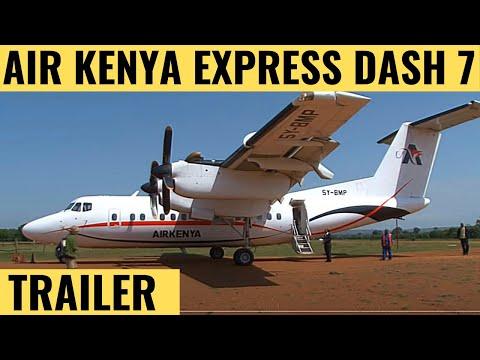 Air Kenya Express Dash 7 And Dash 8