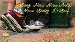 Nazm Nazm (Arko) Karaoke With Graphical Lyrics