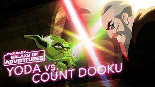 Star Wars Kids - Galaxy of Adventures | Yoda vs. Count Dooku