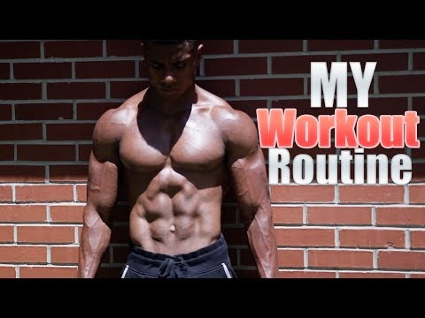 My Current Workout Routine | NEW GOALS