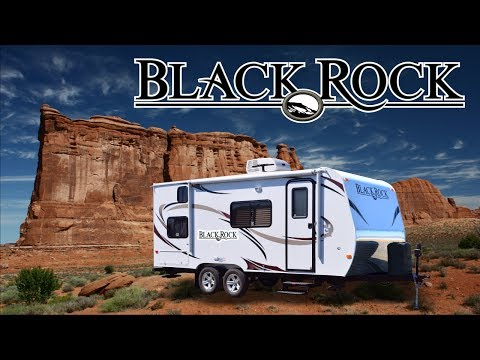 NEW Black Rock Travel Trailers