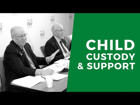 Child Support & Custody Recent Cases Update 2020, Family Law MCLE BY BHBA