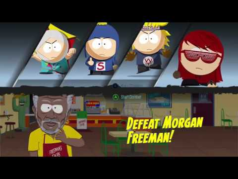 South Park: The Fractured but Whole - Morgan Freeman fight on Mastermind |