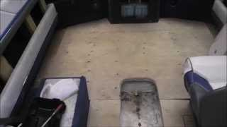 Cheap Fix For A Rotten Boat Floor (part 1 Of 2) Installing New Plywood
