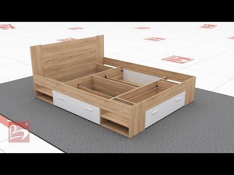 Bed Nemo 160/200 - Furniture Videnov