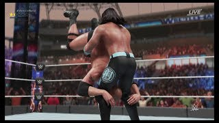AJ Styles vs The Rock - WWE 2K19 PS4 Gameplay