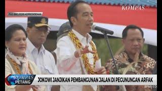 Jokowi Janjikan Infrastruktur kepada Warga Pegunungan Arfak