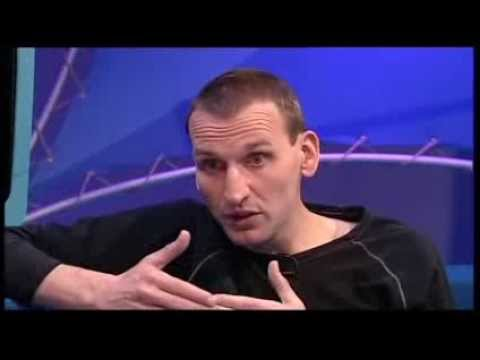 Blue Peter - Doctor Who Special 2005, Christopher Eccleston