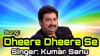Dheere Dheere Se | Kumar Sanu & Anuradha Paudwal | Aashiqui | Mp3