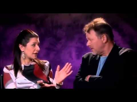 Jonathan Frakes  Marina Sirtis - Reunion Of The Rikers.mp4