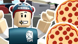 Roblox - DANTDM Pizza Factory Tycoon - MAKING DIAMOND PIZZA!!