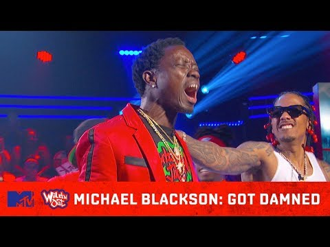 Michael Blackson Goes Super Saiyan on DC Young Fly! 馃挜 Wild 'N Out | #GotDamned