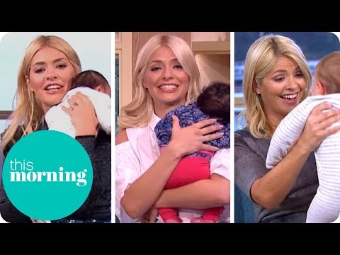 Holly & Babies on This Morning!
