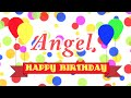 Happy Birthday Angel Song