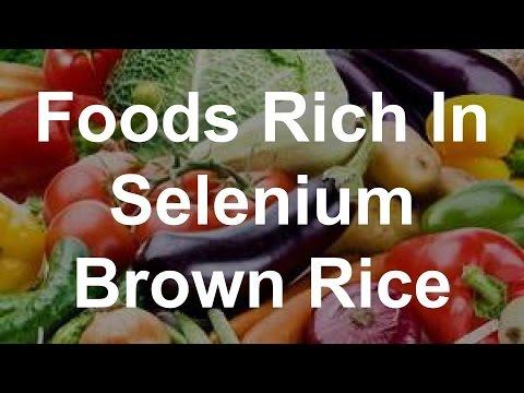Foods Rich In Selenium - Brown Rice