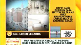 Punto por Punto: New York condo ni Sen. Legarda, hindi nga ba idineklara?