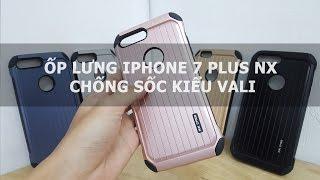 Ốp lưng iPhone 7 Plus NX chống sốc kiểu vali - Đồ Chơi Di Động .com