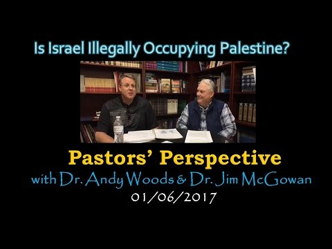 2017.01.06. Is Israel Illegally Occupying Palestine?