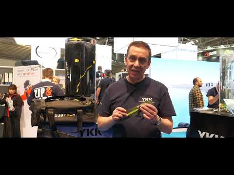 Sub Tech Zip It with YKK's Aquaseal® at ISPO 2020