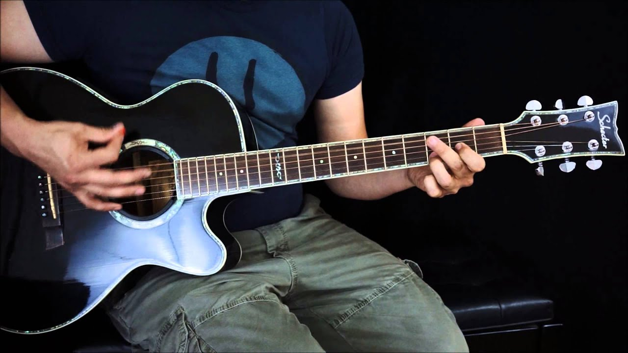 The Red Jumpsuit Apparatus Your Guardian Angel Acoustic Guitar