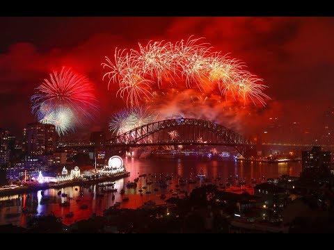 Sydney New Year S Eve Fireworks Feliz Ano Nuevo 2019 Fuegos