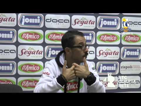 Cavese - Vigor Lamezia, la conferenza stampa dell'allenatore Emilio Longo