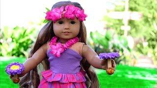 American Girl Doll Visits Hawaii