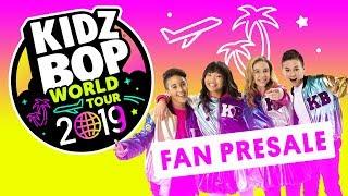 KIDZ BOP World Tour 2019 Fan Pre-Sale Celebration!