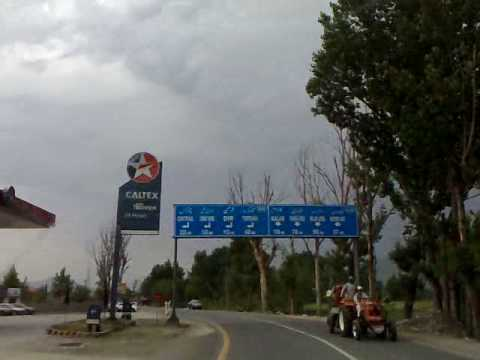 On the way from Batkhela to Chakdara. Spring 2010 Malakand Swat Pakistan