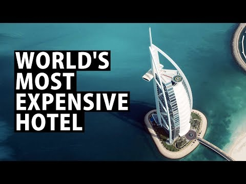 World's #1 Most Luxurious Hotel, Dubai's Burj Al Arab