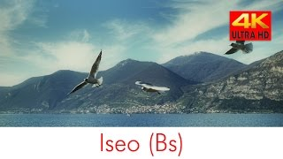 Iseo lago 4k (lake Lombardy Town in Italy)