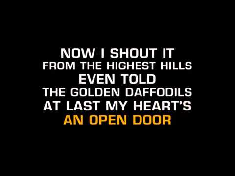 Secret Love karaoke - Doris Day - lower key