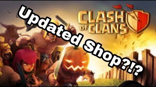 Clash of Clans | New Updates For The Shop?!?