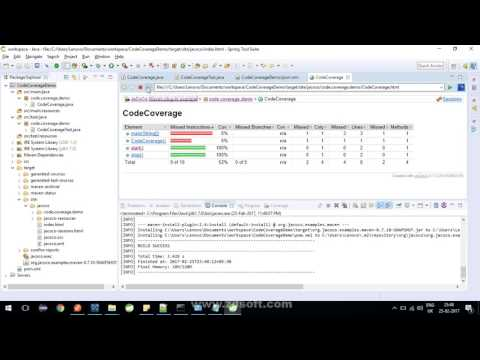 JaCoCo & EclEmma : Java Code Coverage Tutorial