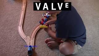 ACTUAL footage of valve BANNING pubg trading
