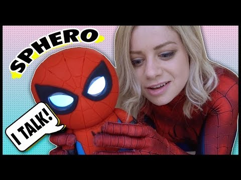 Spiderman Interactive Talking Toy by Sphero Review