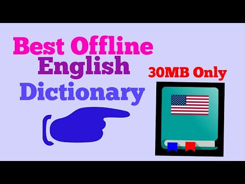 Best Offline English Dictionary App In Android
