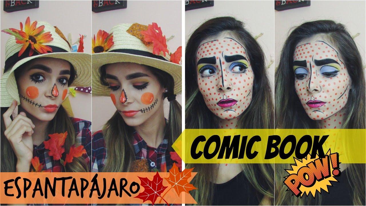 Disfraz para Halloween Espantapjaro y Comic Book Parte 1