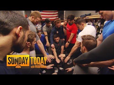 Meet The US Men's Paralympic Sled Hockey Team   Sunday TODAY